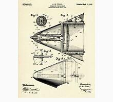 Submarine Torpedo Boat 06-1910 Unisex T-Shirt