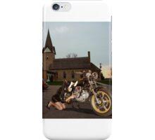 Holy service / Heiliger Deinst iPhone Case/Skin