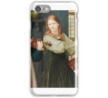 Henry Holiday - The Duet (Portrait of Alexandra and Winifred) iPhone Case/Skin