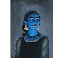 Blue Frida Photographic Print