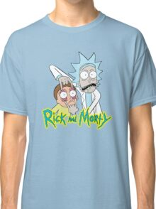 rick morty, rick, rick sanchez, cartoon, fun, youtube, science. Classic T-Shirt