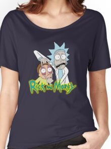 rick morty, rick, rick sanchez, cartoon, fun, youtube, science. Women's Relaxed Fit T-Shirt