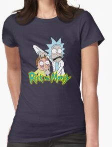 rick morty, rick, rick sanchez, cartoon, fun, youtube, science. Womens Fitted T-Shirt