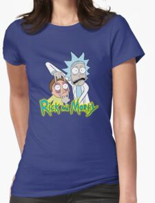 rick morty, rick, rick sanchez, cartoon, fun, youtube, science. Womens Fitted T-Shirt
