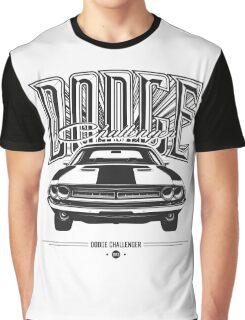 Dodge Challenger Graphic T-Shirt