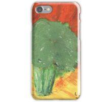 Stressed Broccoli iPhone Case/Skin