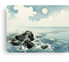 Kojima Island - anon - 1890 - woodcut Canvas Print