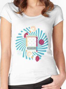 Amanita Box Women's Fitted Scoop T-Shirt