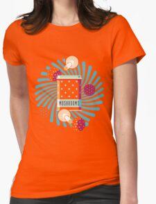 Amanita Box Womens Fitted T-Shirt
