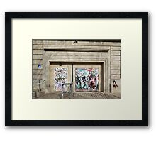 Berghain Framed Print