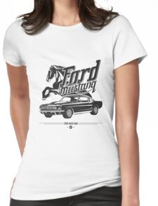 Ford Mustang 1967 Womens Fitted T-Shirt