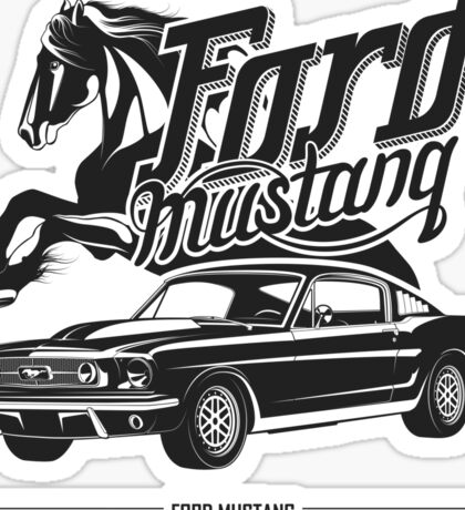 Ford Mustang 1967 Sticker