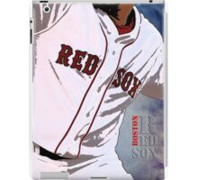 Boston Red Sox Baseball, Typography iPad Case/Skin