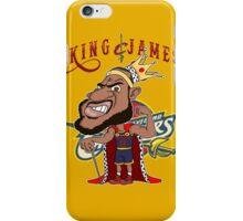 KING JAMES iPhone Case/Skin