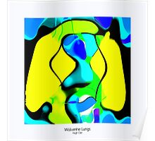 WOLVERINE LUNGS - With Border Poster