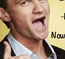 Barney Stinson - Legendary Sticker