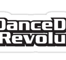 Dance Dance Revolution by Konami Sticker