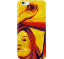 Sunlight, 15-15cm, 2011, watercolors and acryl iPhone Case/Skin