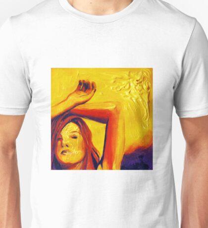 Sunlight, 15-15cm, 2011, watercolors and acryl Unisex T-Shirt