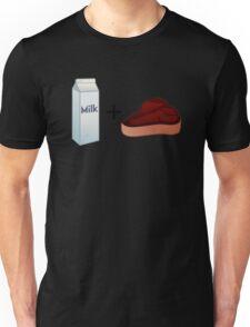 Milk Steak Unisex T-Shirt