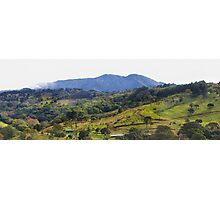 How green was my Costa Rican valley Photographic Print