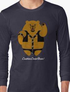 LEATHER LOVIN BEAR! Long Sleeve T-Shirt