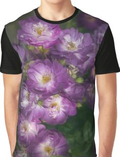 Veilchenblau (Rambling Rose) Graphic T-Shirt