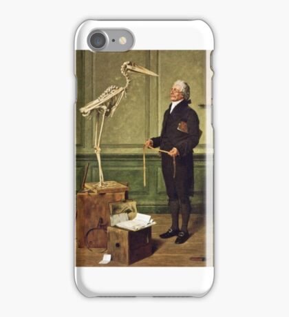 Henry Stacey Marks - Science is Measurement  iPhone Case/Skin