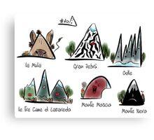 #10 Montagnette Canvas Print