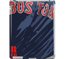 Boston Red Sox Original Typography Blue shirt iPad Case/Skin