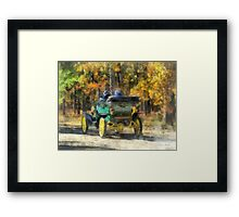 Stanley Steamer Automobile Framed Print