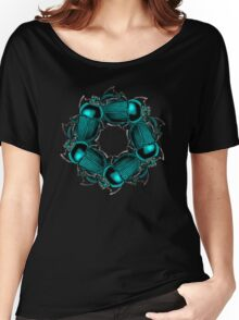 EGYPTIAN SCARAB Women's Relaxed Fit T-Shirt