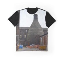 photo of bottle kiln Graphic T-Shirt
