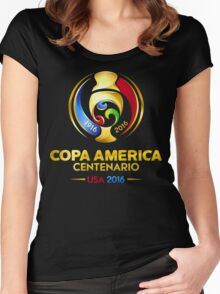 Copa America 2016 Women's Fitted Scoop T-Shirt