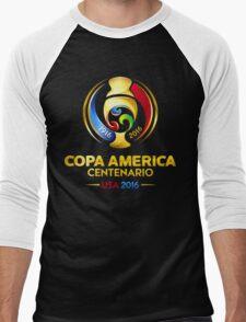 Copa America 2016 Men's Baseball ¾ T-Shirt
