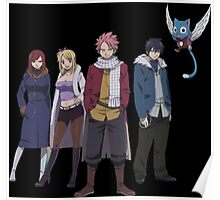 Fairy Tail Family Poster