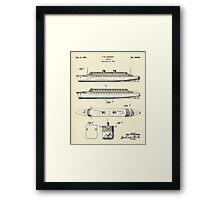 Steamship-1937 Framed Print