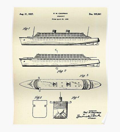 Steamship-1937 Poster