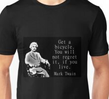 Get A Bicycle - Twain Unisex T-Shirt