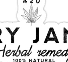 Mary jane's Herbal Remedy Sticker