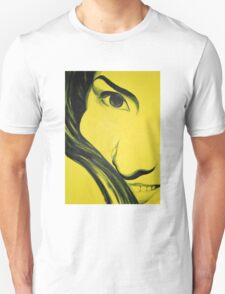 Yellow me, 50-70cm, 2011, oil on canvas T-Shirt