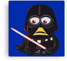 Minion|Minions|Darth Vader Canvas Print