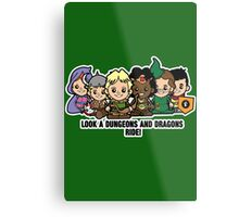Lil Dungeons and Dragons Metal Print