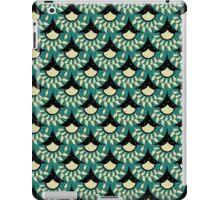 Geometric Heliconia Fan Pattern iPad Case/Skin