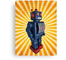 ROBOT INVASION! Canvas Print
