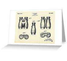 Binoculars-1946 Greeting Card