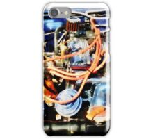 Under The Hood Abstract iPhone Case/Skin