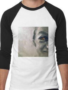 Snake eyes, 2010, 30-30cm, oil on cardboard Men's Baseball ¾ T-Shirt