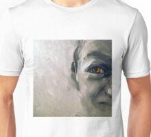 Snake eyes, 2010, 30-30cm, oil on cardboard Unisex T-Shirt