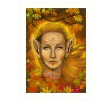 Autumn Fae Art Print